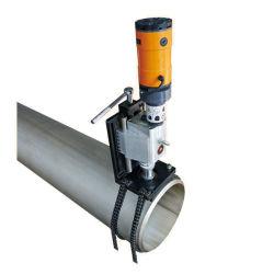 Champ de traitement de l'orifice du tuyau de tube de la chaîne Portable Foreur de la faucheuse
