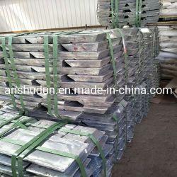 高品質純粋な亜鉛インゴット99.99% 99.995