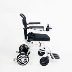 Batería de litio de 18kg Jinmed transporte plegable silla de ruedas de desplazamiento de energía eléctrica