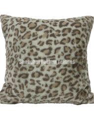 Gran Leopard Print Funda de almohada como embarazada al aire libre de almohadas almohadas y peluches almohada