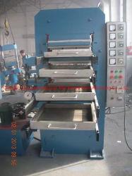 Baldosa de goma que vulcanización de la máquina de prensa