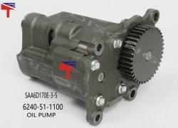 油圧ショベル PC1250-7 ホイールローダ WA600-3 WA600-6 用オイル・オーンプ 6240-51-1100 Dumptrトラック HD465-7 エンジン SAA6d170e-3-5 Qsk23 4095431 4344668