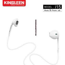 Trasduttori auricolari nel controllo di volume stereo del microfono di Earbuds dell'orecchio per tutta e unità della spina dell'audio di 3.5mm le