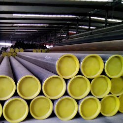 Prix par mètre en acier au carbone ASTM A500 classe B de l'API 3PE PE enduits5l X52 X70 tuyau sans soudure