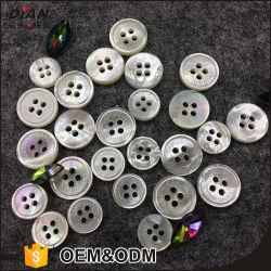 9mm 11mm White Mãe de Pearl Botões Botões camisola natural para venda