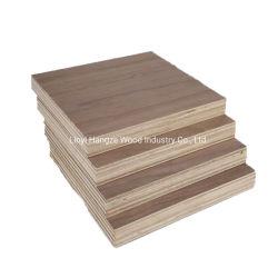 Qualidade superior Fantasia preta decorativa compensado de madeira de nogueira