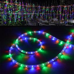360 مستديرة [لد] نيون شريط قوس قزح أنابيب ضوء [220ف] [110ف] [أك] [رغب] [لد] حبل ضوء وشاح [ستريب ليغتينغ] مسيكة مرنة لأنّ زخرفة خارجيّ