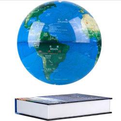 Книга магнитного основания Levitation земного шара световой вращение земного шара с плавающей запятой акустические Levitation Глобус магнит с плавающей запятой глобус светодиодный индикатор
