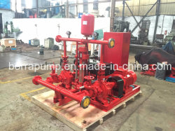 Пожаротушение водой Оборудование дизельного двигателя электрического вспомогательного насоса