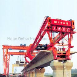 150t 45m мост запускающее козловой кран для строительства шоссе