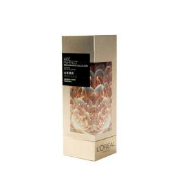 Le logo personnalisé de luxe de l'impression UV Silver Carton rouge à lèvres maquillage cosmétiques Parfum boîte en carton<br/> Emballage de cadeau de l'emballage du papier
