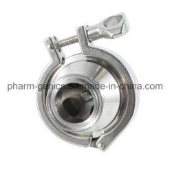درجة الطعام الفولاذ المقاوم للصدأ SUS 304/ 316L مصباح Triclamp غير الصحي أعد سعر صمام الفحص