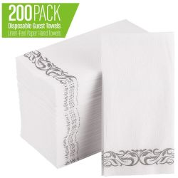 Одноразовые мягкой и абсорбирующую Linen-Feel бумагу рукой полотенца