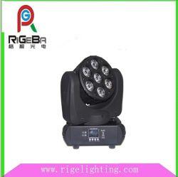 7X10W fase RGBW Farol de movimentação de LED