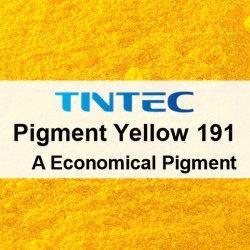 Pigment jaune organiques 191 pour le plastique