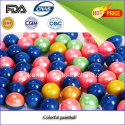 최신 판매 0.43/0.50/0.68 인치 다채로운 Paintball