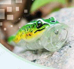 A pesca de grau superior Lure--UV Revestidos Frog Popper (HW002)