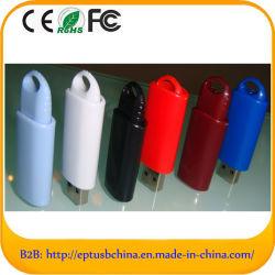 Пластиковый флэш-накопитель USB пользовательской памяти диска (ET608)