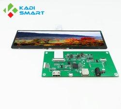 8.8Inch LCD de la barra de 1280*320 Coche Mostrar pantalla de navegación de la Interfaz LVDS Monitor HDMI tipo barra
