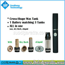 Dry Herb Vaporizerのための卸売2014年のNew Rebuildable Wax Atomizer E Cig Elips