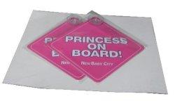 Bebé a bordo de signo (rosa)