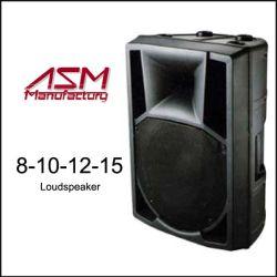 """8"""" /10"""" /12"""" /15 inch actieve 2-weg luidsprekers/PA-luidspreker/plastic luidsprekerkast"""
