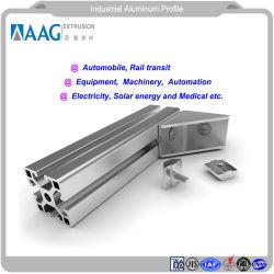 Industriels en aluminium extrudé anodisé LED / Profil en aluminium avec la norme ISO9001