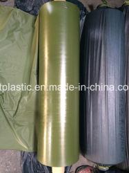 올리브 그린 PVC 필름(0.06 - 0.5mm 크기