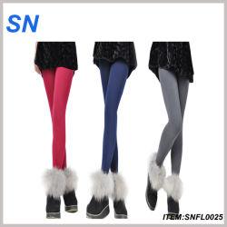 Дешевые из матового цвета колготки, была обнажена мраморная Footless вплотную Leggings (SNFL0025)