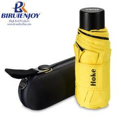 Super Mini guarda-chuva dobrável e leve com saco de transporte