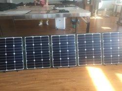 طقم لوحة شمسية مطوية بقوة 240 واط للمخيمات في العطلة