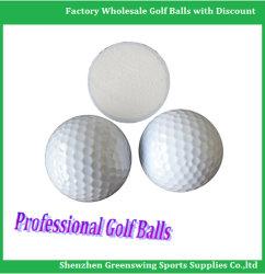 Plage de deux pièces de haute qualité des balles de golf