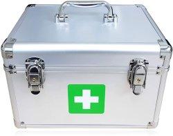 Для оказания первой медицинской помощи блокировки окно Организатор экстренной медицинской помощи ящик для хранения медицинских алюминия в салоне