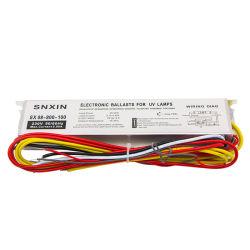 Marcação RoHS ISO 55-95W luz LED de balastro da lâmpada UV de alarme os balastros electrónicos