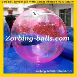 ماء كرة [زورب] مشية على ماء كرات يمشي كرة [وتربلّ] قابل للنفخ ماء كرة إنسانيّة قدم [زوربينغ] كرة