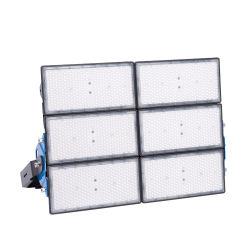 Proyector LED de aluminio negro faro de la proyección de la iluminación exterior