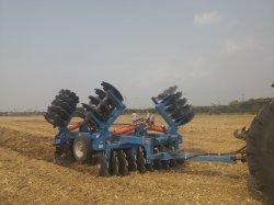 La agricultura hidráulica de la máquina de la grada de discos de 5,3 m