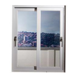 Duplo Pátio Porta vidrada a autolimpeza Escritório de Integridade de alumínio Janela Deslizante