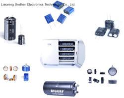 Temperatura alta Tipo de devanado Supercapacitor 2,7 8f Farad Capacitor