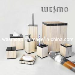 Salle de bains en bois peint en blanc Accessoires (WBW0260A)