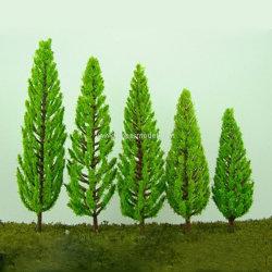 اصطناعيّة [بلستيك&يرون] سلك [سكل مودل] أشجار لأنّ معماريّة وقافلة تموين زخرفة نموذجيّة