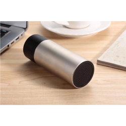 cadeau de promotion Mini portable sans fil Bluetooth stéréo cylindrique en métal l'Orateur Q105
