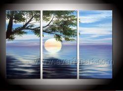 De uitgerekte Kunst van het Canvas van het Olieverfschilderij van het Zeegezicht (SE-200)
