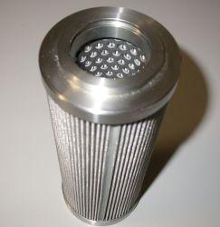 304 de 316 micras de malla de alambre de acero inoxidable de filtración filtro de pliegues cilindros