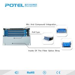 Quadro d'interconnessione di fibra ottico di memorie della casella di distribuzione del supporto di cremagliera del quadro d'interconnessione della fibra ODF 12/24/36/48/96