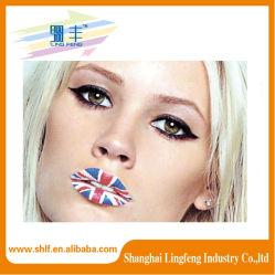 Heißer Lippentätowierung-Aufkleber, heißer Verkaufs-reizvolle Tätowierungen