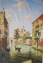 Veneza Wall Art pintura a óleo