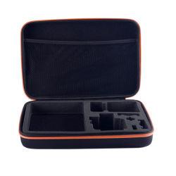 Estojo para câmera Gopro e acessórios, Estojo acolchoado de espuma protegida e organizados na Bolsa de viagem Saco de câmera digital13156 ESG