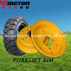 Roue en acier industriel d'alimentation de l'usine (RIM 5.00S-12)