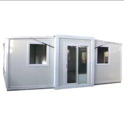 3 em 1 Estrutura de aço do alojamento do recipiente de expansão modular de abrigos de emergência